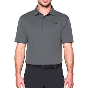🆕Men's Under Armour Athletic Polo Grey